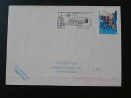 12 Aveyron Nant - Flamme Sur Lettre Postmark On Cover - Marcophilie (Lettres)