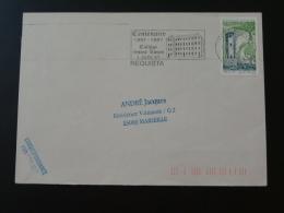 12 Aveyron Requista Collège St-Louis 1997 - Flamme Sur Lettre Postmark On Cover - Marcophilie (Lettres)