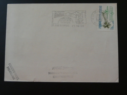 12 Aveyron St Jean Du Bruel Pont Bridge - Flamme Sur Lettre Postmark On Cover - Marcophilie (Lettres)