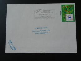 17 Charente Maritime La Rochelle Aéroport 1996 - Flamme Sur Lettre Postmark On Cover - Mechanische Stempels (reclame)