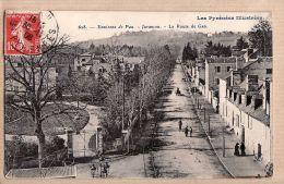 X64066 JURANCON Environs de PAU Route de GAN 30.11.1908 - PYRENEES ILLUSTREES N�628 - Basses Pyren�es Atlantiques