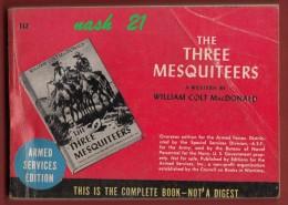 Livre De Type Western '' The Three Mesquiteers '' By William Colt Mac DONALD   -  Editions  Armées U.S  En  313 Pages - Fuerzas Armadas Americanas