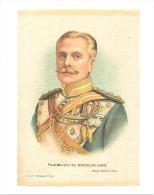 B.D.V. Cigarettes - Portrait Imprimé  Soie Ou Tissu Satiné ( 11 X 16 Cm)  - Field-Marshal Sir Douglas HAIG - UK / GB - Cigarettes - Accessoires