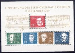 DUITSLAND - Michel - 1959 - BL 2 - MNH** - [7] West-Duitsland