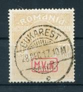 MV Rumänien Zwangszuschlagsmarke  7 X  Gestempelt - Besetzungen 1914-18