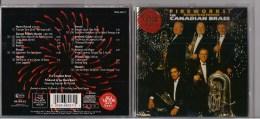 CD: Canadian Brass:Fireworks, Baroque Brass Favorites: Purcell, Haendel, Clarke, Tallis - RCA 1995 - - Instrumental