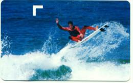 ITALIA SURF EXPO SANTA SEVERA SCHEDA TELEFONICA TELECOM 2437 - Italia