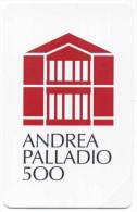 ANDREA PALLADIO 500 NASCITA SCHEDA TELEFONICA  TELECOM 2405 - Italia