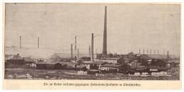 Original Zeitungsausschnitt - 1925 - Hohenloe-Zinkhütte B. Bittkow , Huta Laura-Siemianowice , Schlesien !!! - Schlesien