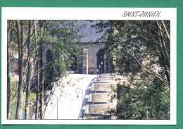 87 Saint Junien Chapelle Notre Dame du Pont vue du Bois au Boeuf