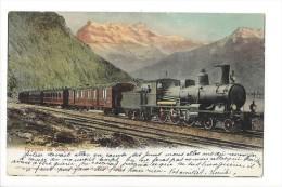 11398 - Express Du Simplon - Trains