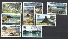 Djibouti - Michel N° 401/08° (paysages/landschappen) - Djibouti (1977-...)