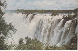 RAIMBOW  FALLS--VICTORIA FALLS       (NUOVA)  MINI CARD - Zambia