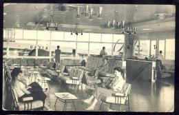 AK     1960.   QANTAS EMPIRE AIRWAYS     PORTION OF THE QANTAS PASSANGER LOUNGE ,  DARWIN  AIRPORT  N.T.  AUSTRALIA - Aérodromes