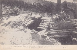 ENTREE D UNE TRANCHEE FRANCAISE AUS ENVIRONS DE STEINBACH   GUERRE - War 1914-18