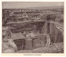Original Zeitungsausschnitt - 1925 - Plattenkalkbruch Bei Solnhofen , Fossilien !!! - Germany