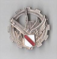 INSIGNE 309° RA REGIMENT ARTILLERIE , émail - DRAGO PARIS BER Déposé - Armée De Terre