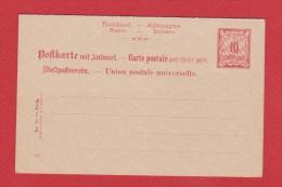 ALLEMAGNE    //  Postkarte    //  Vierge  //  Avec Coupon Réponse - Ganzsachen