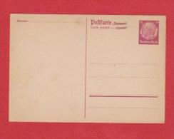 ALLEMAGNE    //  Postkarte    //  Vierge  // - Ganzsachen