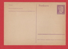 ALLEMAGNE    //  Postkarte    //  Vierge  // - Entiers Postaux