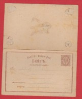 ALLEMAGNE    //  Postkarte    //  Avec Coupon Réponse - Stamped Stationery