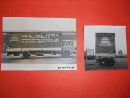 B636 2 Foto Camion Cm10,5x14,5 E 9x9 Argenta Ferrara - Fotografía
