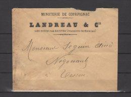 17 - Les Gonds Par Saintes - Landreau & Cie - Minoterie De Courpignac - 1921-1960: Modern Tijdperk