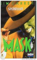 CASSETTE VIDEO VHS : SECAM 98 Minutes - VF - THE MASK - JIM CARREY / CAMERON DIAZ - BON ETAT - Comedy