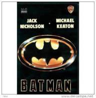CASSETTE VIDEO VHS : BATMAN De Tim Burton Avec Michael Keaton, Kim Basinger, Jack Nicholson VHS SECAM - Action, Aventure