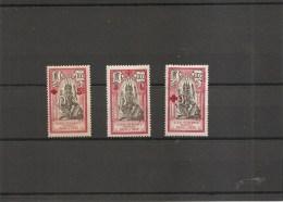 Inde Française ( 43 + 46 Et 48 X -MH) - India (1892-1954)