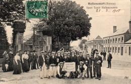 Hallencourt (somme) Sport Tamis Hallencourtois.Championnat En 1906. - Frankreich