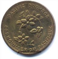 FIORI DEL CANADA PACIFIC DOGWOOD BRITISH COLUMBIA 1871 - Monétaires / De Nécessité