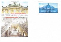 Postwaardestuk, Postal Stationary, Schloss Sans Souci, Würzburger Residenz - Kastelen