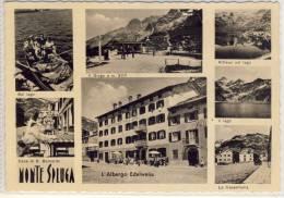 Hotel, L´Albergo EDELWEISS - Passo Dello Spluga, Splügen Pass, MONTE SPLUGA, Cane Di S. Bernardo, Il Lago ..... - Sondrio
