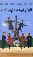 CASSETTE VIDEO VHS   : ON CONNAIT LA CHANSON 118 Mn - ALAIN RESNAIS / 1997 - Musicals