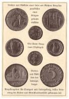 Original Zeitungsausschnitt - 1925 - Porzellanmünzen , Töpfergeld , Bunzlau , Ludwigsburg , Porzellan , Münzen !!! - [11] Sammlungen