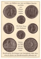 Original Zeitungsausschnitt - 1925 - Porzellanmünzen , Töpfergeld , Bunzlau , Ludwigsburg , Porzellan , Münzen !!! - [11] Verzamelingen