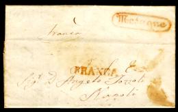 Mesagne-00448c (con Testo) Da Oria Il 19 Marzo 1846 - - Italia