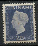 Surinam 1948 22 1/2c Queen Wilhelmina Issue  #225 MNH - Suriname ... - 1975