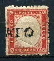27723) ITALIEN # 11 Gestempelt Aus 1862, 140,- € - Usati