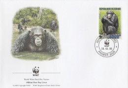 """Guinée 2006 - FDC WWF"""" - Timbres Yvert & Tellier N° - Guinea (1958-...)"""