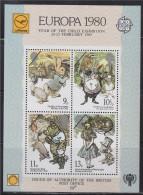 = Europa 1980 Bloc Postes Britanniques Année Exposition Des Enfants Neuf Gommé Dentelé - Europa-CEPT
