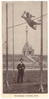 Original Zeitungsausschnitt - 1925 - Stabhochsprung , Hochsprung , Leichtathletik !!! - Leichtathletik