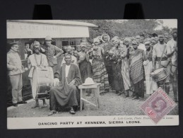 SIERRA LEONE - KENNEMA - Dancing Party- Superbe Et Rare -  (Lot N° 2046) - Sierra Leone