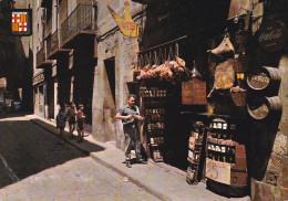 España--Barcelona--Barrio Antiguo--Artesano De Botas, Toneles Y Vinos - Artesanal