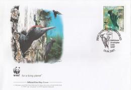 "Serbie 2007 - FDC WWF"" - Timbres Yvert & Tellier N° 189 à 192. - Serbia"