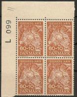 Czeslaw Slania. Denmark 1967. Salvation Army. Michel 465, Plate Block MNH.. - Nuovi