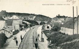 CPA 89 PONT SUR YONNE L INTERIEUR DE LA GARE 1904 - Pont Sur Yonne