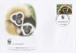"Laos 2008 - FDC WWF"" - Timbres Yvert & Tellier N° - Laos"