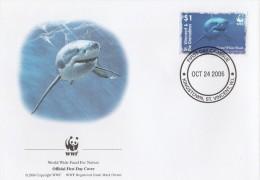 "St. Vincent Et Grenadines 2006 - FDC WWF"" - Timbres Yvert & Tellier N° 4948 à 4951. - St.Vincent & Grenadines"